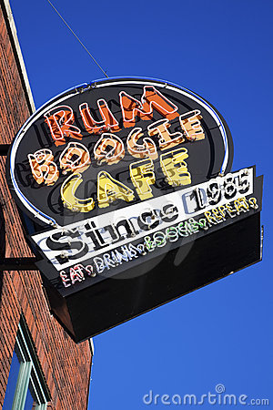 Rum Boogie Cafe Editorial Image