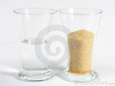 Rum e zucchero di Brown bianchi