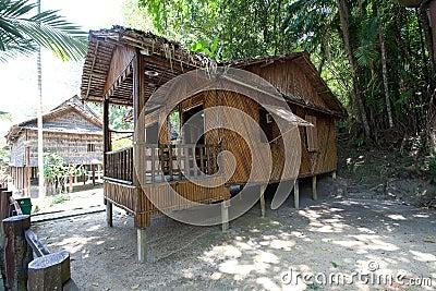 Rumah Bisaya   at Monsopiad Cultural Village
