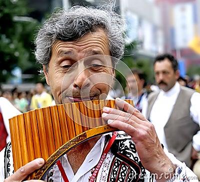 Rumanian man Editorial Photography