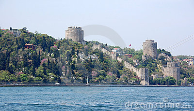 Rumeli Fortress in the Spring