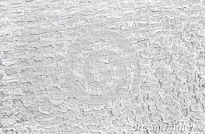 Rumpled white gauze