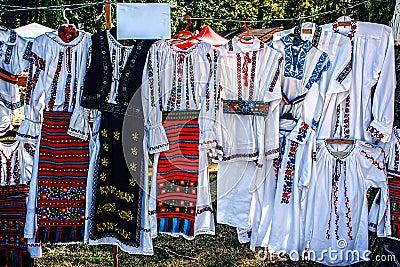 Rumuńscy tradycyjni kostiumy