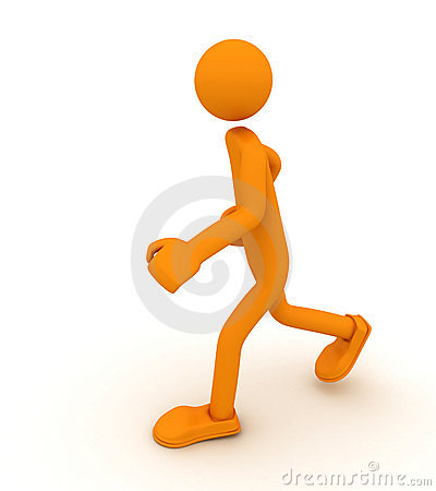 Run Alone Stock Images - Image: 13144804