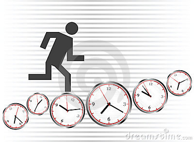Run on clocks