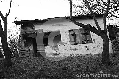 Run-down house