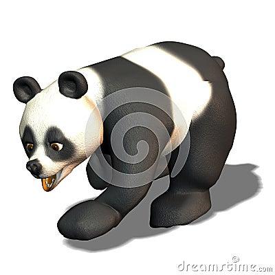 Run panda bear