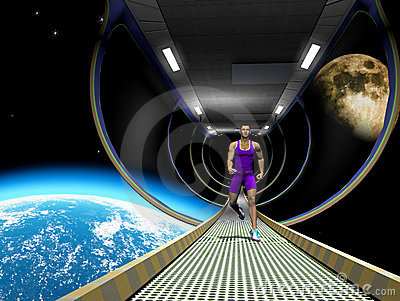 Run in space