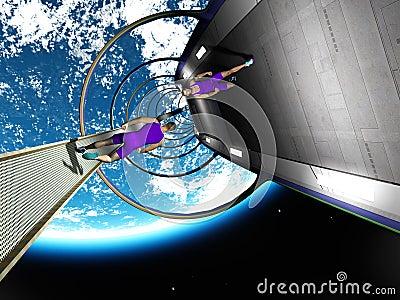 Run in space