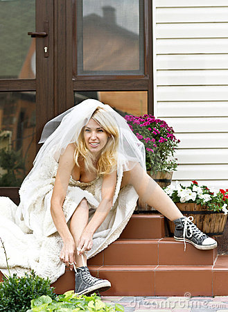 Free Runaway Bride Stock Photos - 21581383