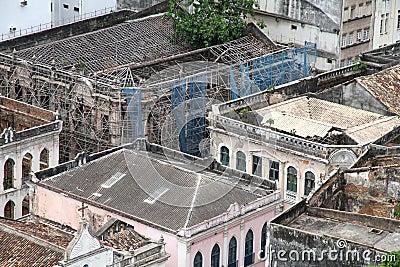 Rundown Buildings in Salvador
