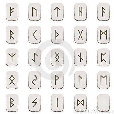 Free Rune Set Stock Images - 14421534