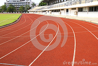 Runing track curve