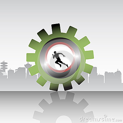 The Runner Stock Photography - Image: 27319402