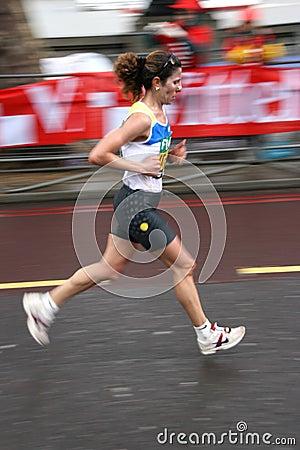 Runner Editorial Image
