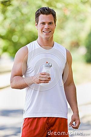 Free Runner Drinking Water Stock Photos - 7329343