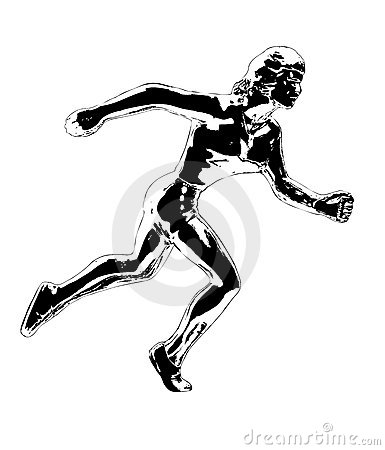Runner Illustration