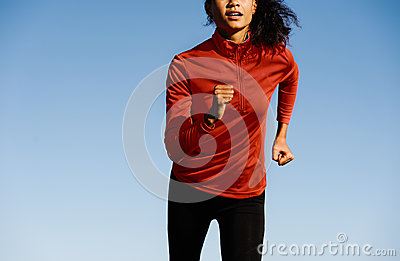 Runner portrait