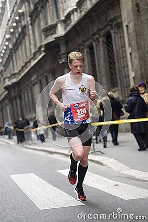 Runner Editorial Photo