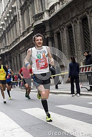Runner Editorial Stock Photo