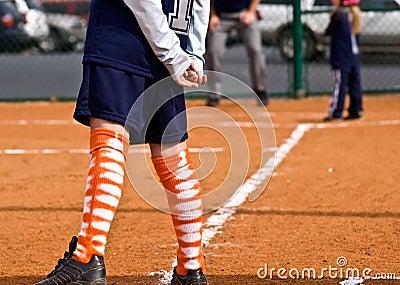 Runner/Third Base/Girls Softball