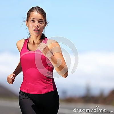 Free Runner - Woman Running Stock Photo - 22671690