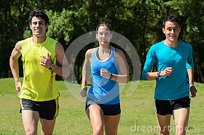 Runners Outdoors