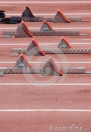 Runners Sprint Blocks