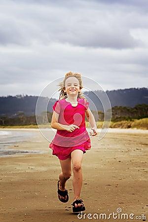 Running along shore