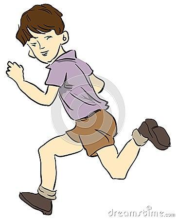 Running a child