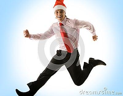 Running into Christmas