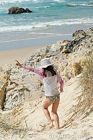 Running down the dune