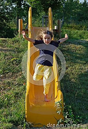 Running Down the Slide