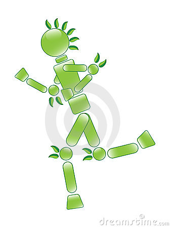 Running Eco Man