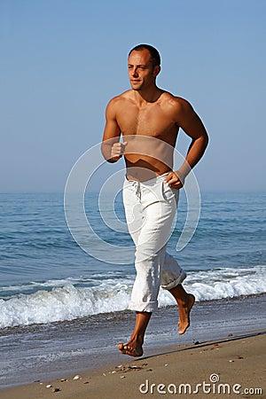 Free Running Man Stock Images - 13062384