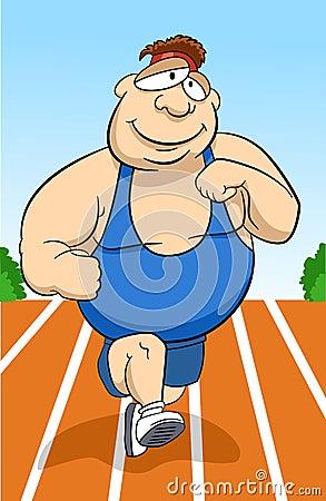 Free Running Man Stock Photography - 2597552