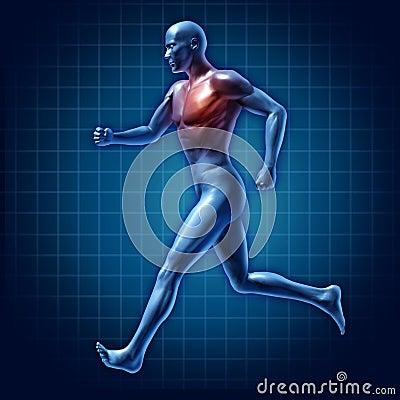 Running man active runner