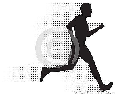 Running Man & Halftone Trail