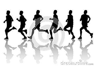 Running mans