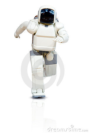 Free Running Robot Stock Photo - 4981930