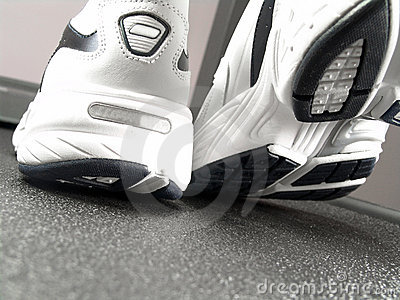 Running Shoes Closeup (Brand New)