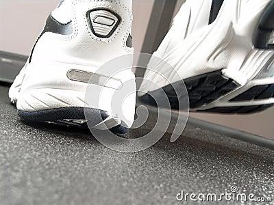 Running Shoes Closeup (Brand New)