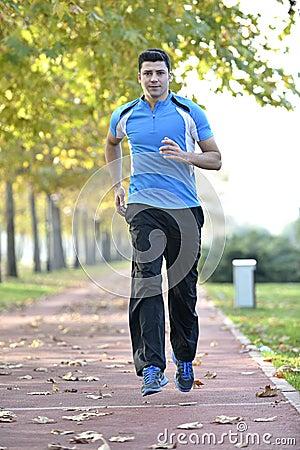 Free Running Sport Man Royalty Free Stock Photos - 35271798