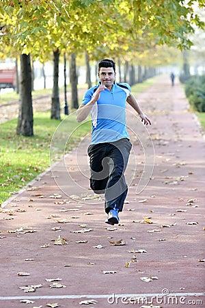 Free Running Sport Man Royalty Free Stock Photography - 35272077