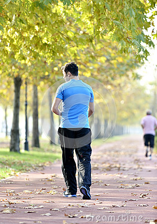 Running sport man
