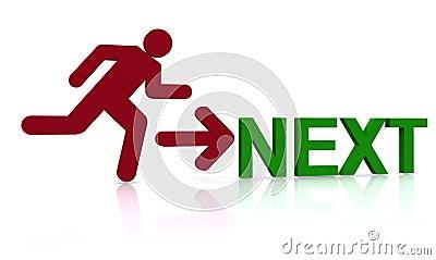 Running to the next thing