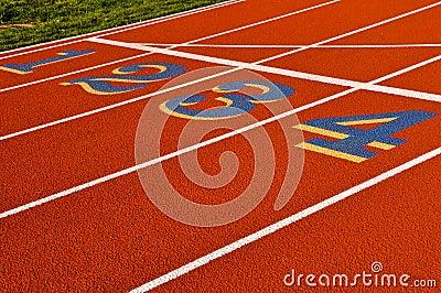 Running Track 1 2 3 4