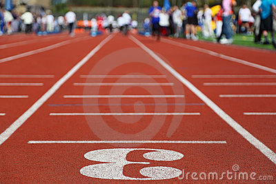 Running Track 3; perspective;