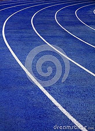 Running Track Blue