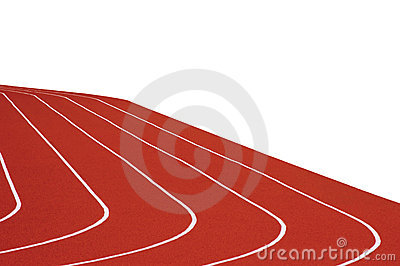 Running Track Isolated
